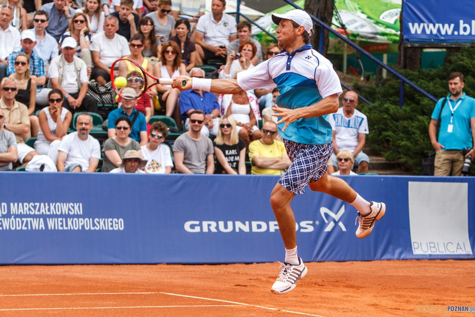 Pablo Carreno Busta (ESP) vs Radu Albot (MDA) - Poznań Open 201  Foto: Paweł Rychter