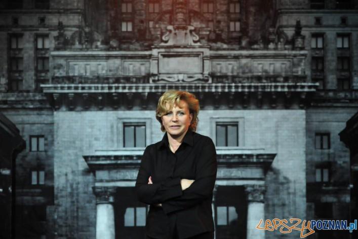Krystyna Janda - spektakl Biała bluzka