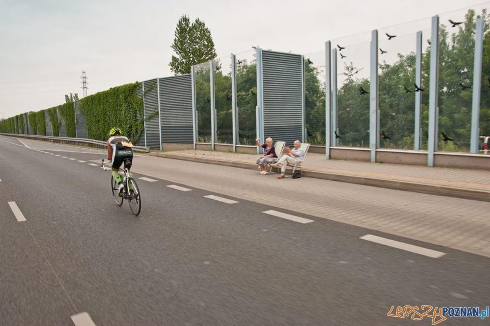 loża VIP poznańskiego triathlonu