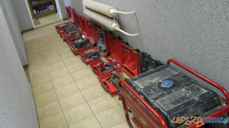 Skradzione elektronarzędzia  Foto: KMP