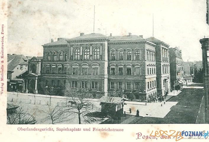 Archiwum Państwe w Poznaniu - Wyższy Sąd Krajowy (ok. 1900 r.)