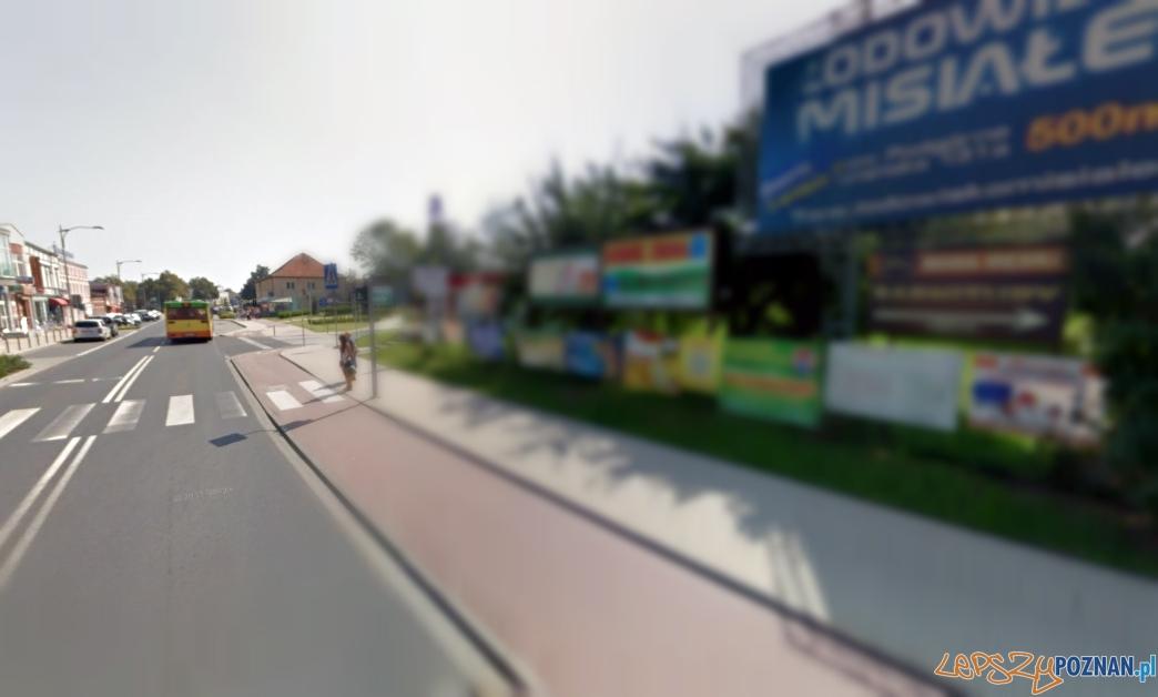 Tarnowo Podgórne robi porządek z reklamami  Foto: Google Street View