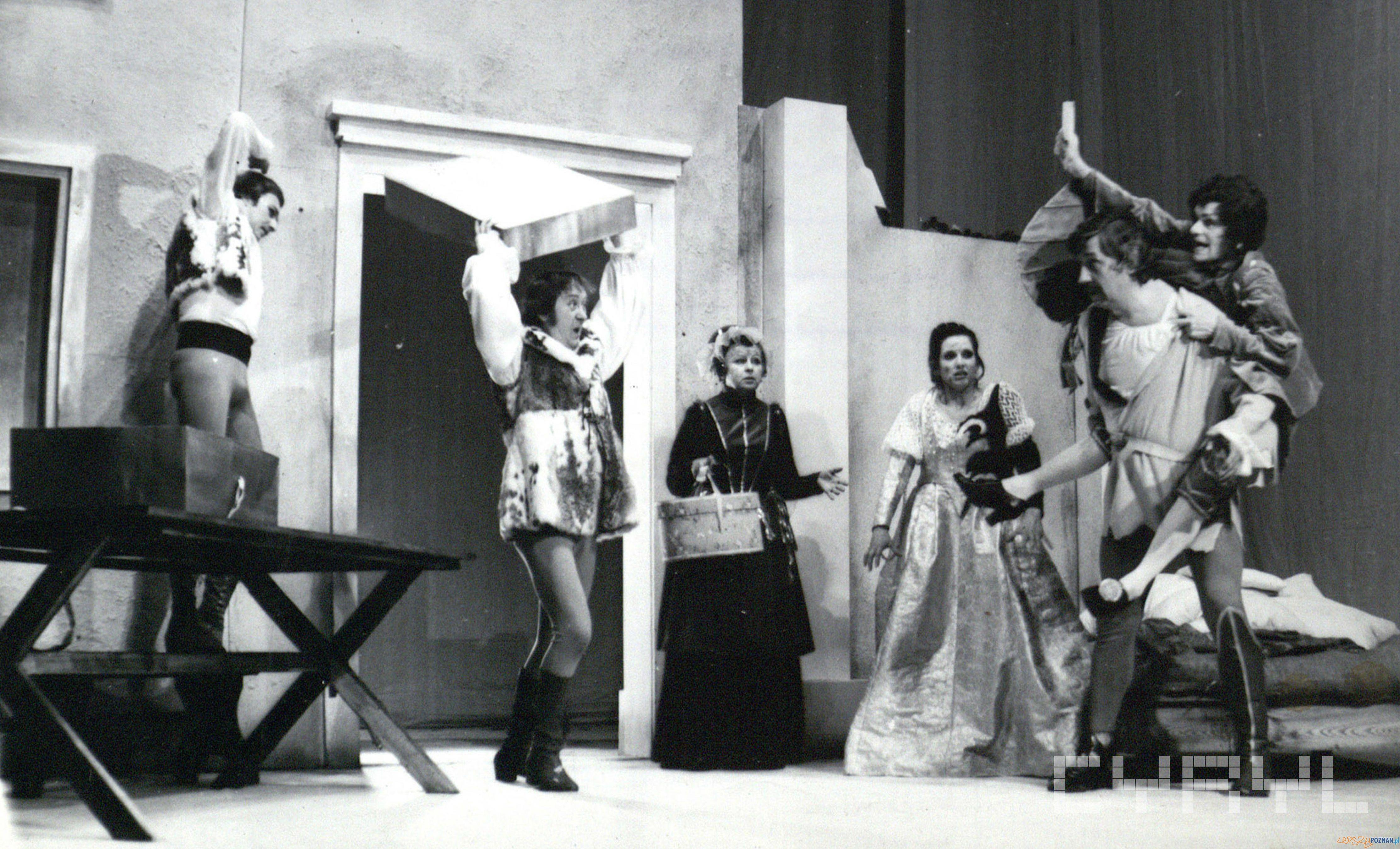 Poskromienie Złośnicy w Teatrze Polskim - premiera 16.04.1977