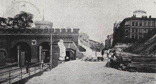 Rozbiórka Bramy Belińskiej 1901
