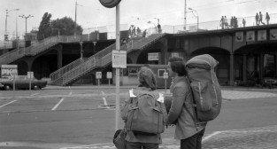 Przystanek Dworzec PKP 27.08.1978