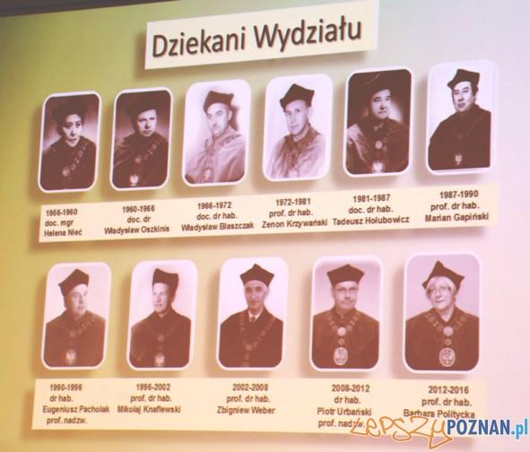 Dziekani Wydział Ogrodnictwa i Architektury Krajobrazu Uniwersytetu Przyrodniczego w Poznaniu w ostatnich 60 latach
