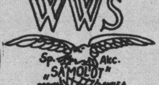 Wielkopolska Wytwórnia Samolotów S.A. Samolot, logo. (Źródło Skrzydlata Polska nr 42 - 1978)