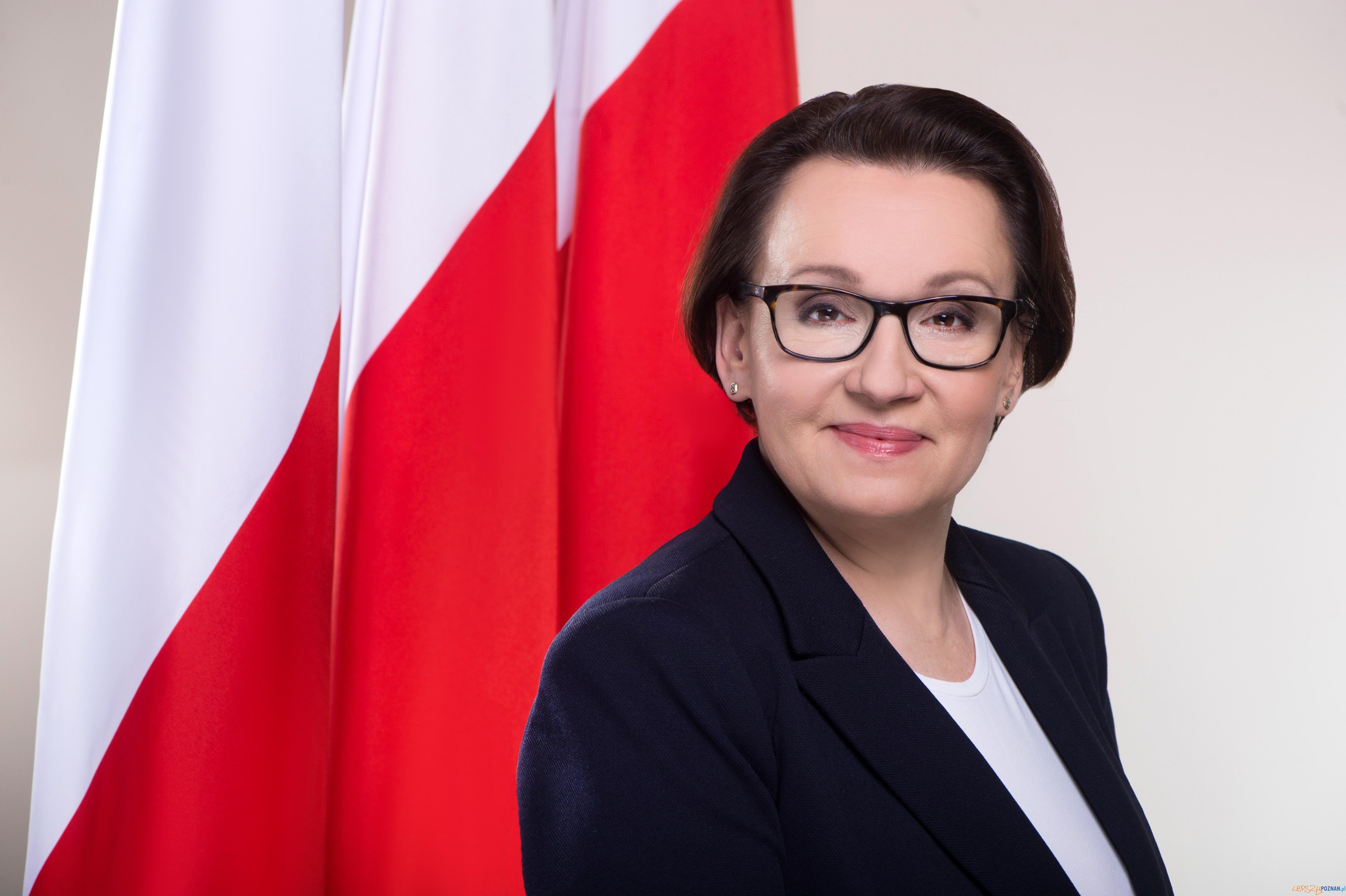 Anna Zalewska - Minister Edukacji Narodowej