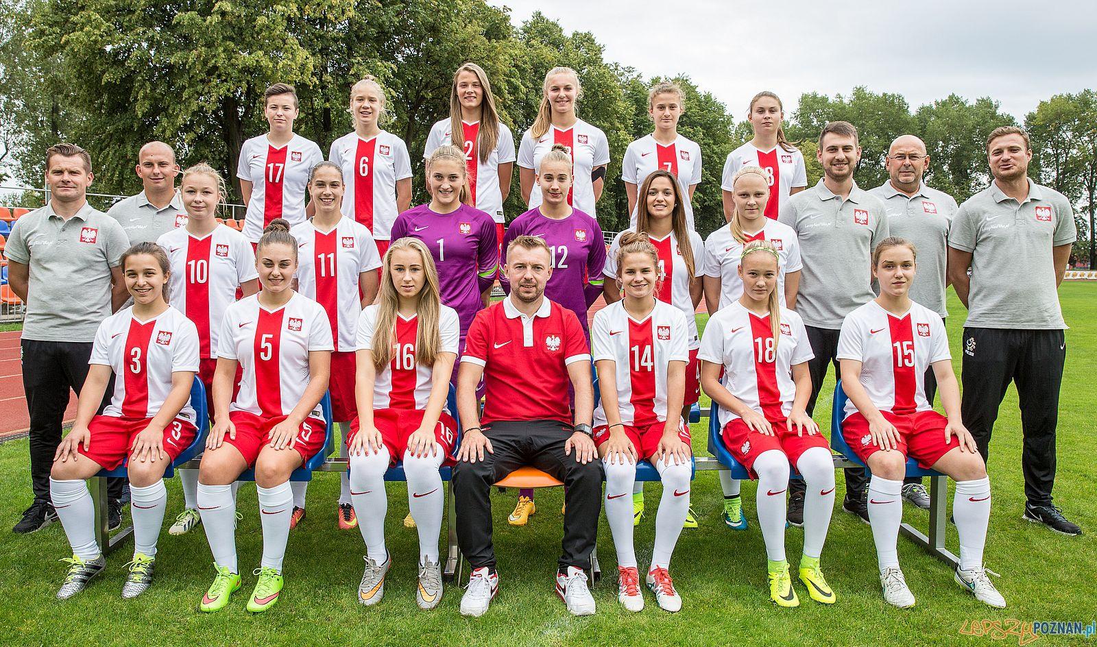 Reprezentacji Polski kobiet U-19.  Foto: materiały prasowe