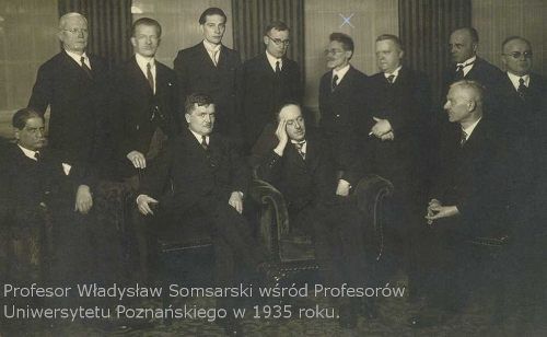 Profesorowie Uniwersytety Poznańskiego (1935)