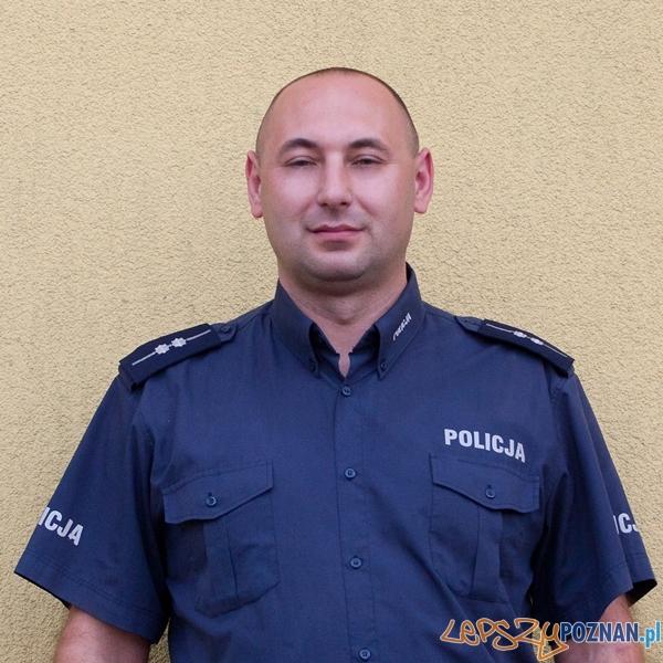 asp. Leszek Wojtkowiak  Foto: KWP w Poznaniu