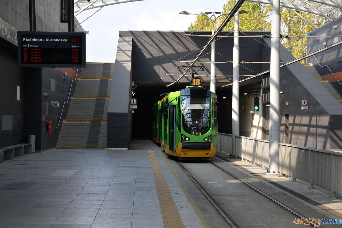 Tramwaj - Tunel Franowo  Foto: Poznańskie Inwestycje Miejskie