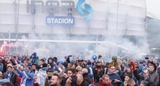 Razem tworzymy legendę - chrzest bojowy Ty51-183 - Inea Stadion Poznań -16.10.2016 r.
