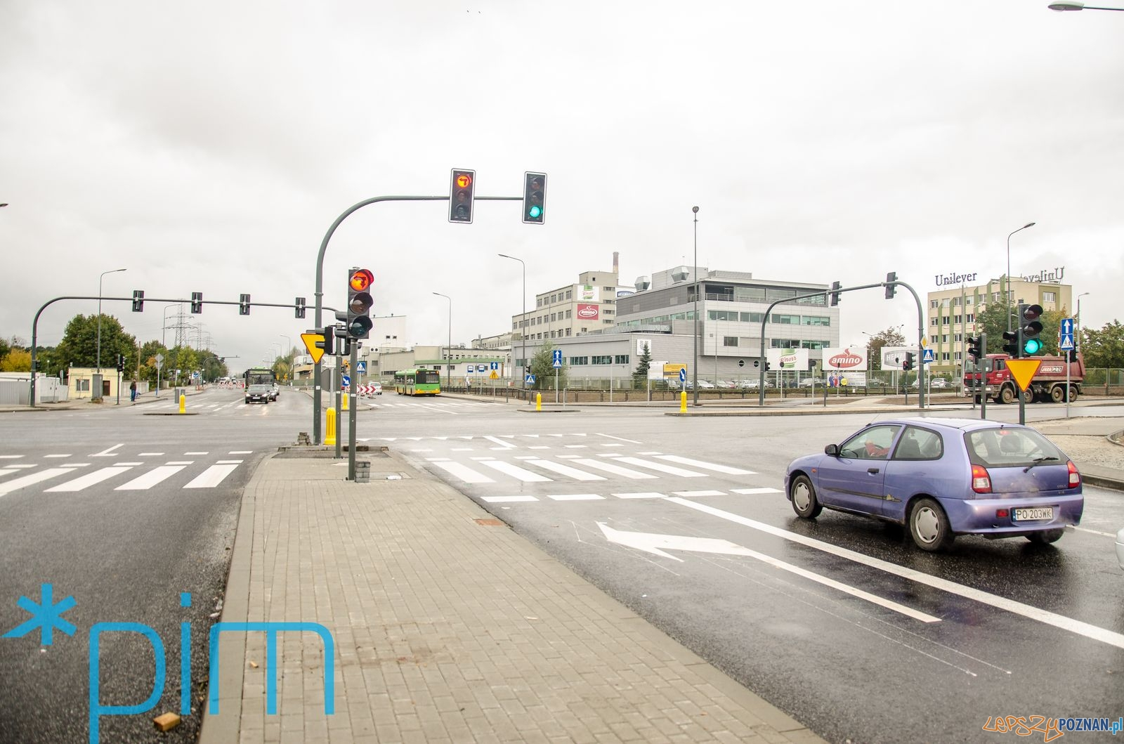 Bałtycka - Gdyńska - skrzyżowanie  Foto: Krzysztof Kaczanowski / PIM