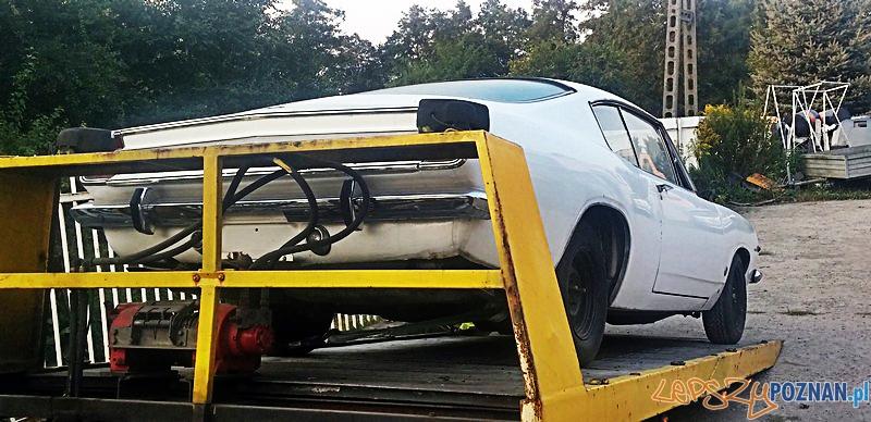 Odzyskano skradziony zabytkowy samochód