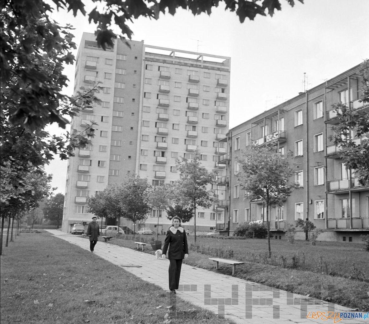 Bloki na Dębcu - 9.10.1974