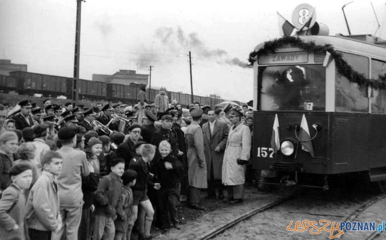 Otwarcie pętli na Zawadach 24.10.1959