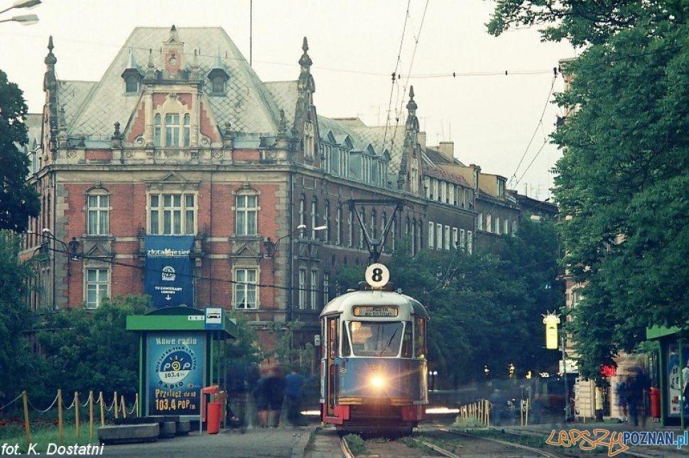 Tramwaj na Placu Ratajskiego - rok 1999