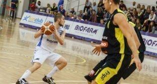 1.Liga Koszykówki Mężczyzn, Biofarm Basket Poznań - Max Elektro Sokół Łańcut - Poznań 22.10.2016 r.