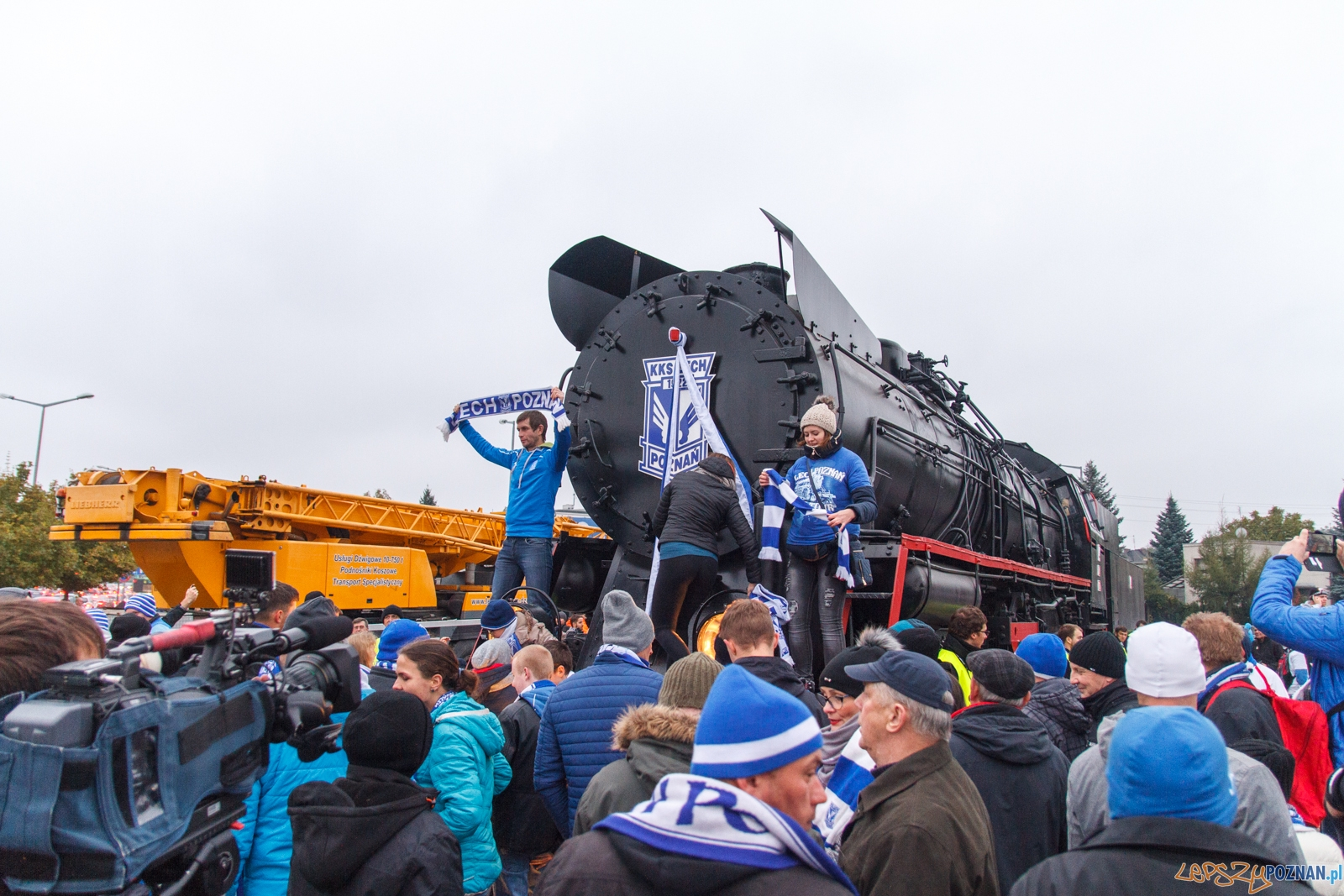 Razem tworzymy legendę - chrzest bojowy Ty51-183 - Inea Stadion  Foto: LepszyPOZNAN.pl / Paweł Rychter