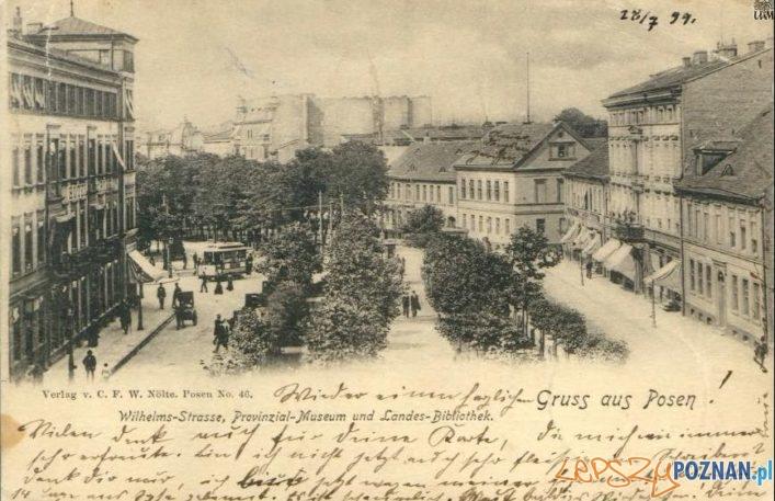 Aleje Marcinkowskiego - rok 1900