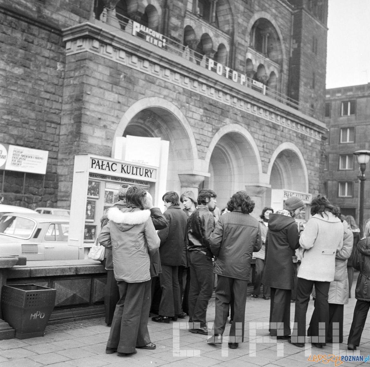 Pałac Kultury - w kinie Potop - 13.11.1974