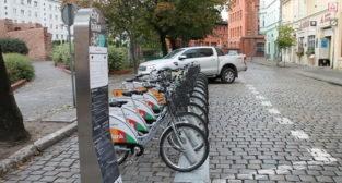 Rower miejski - stacja przy Masztalarskiej