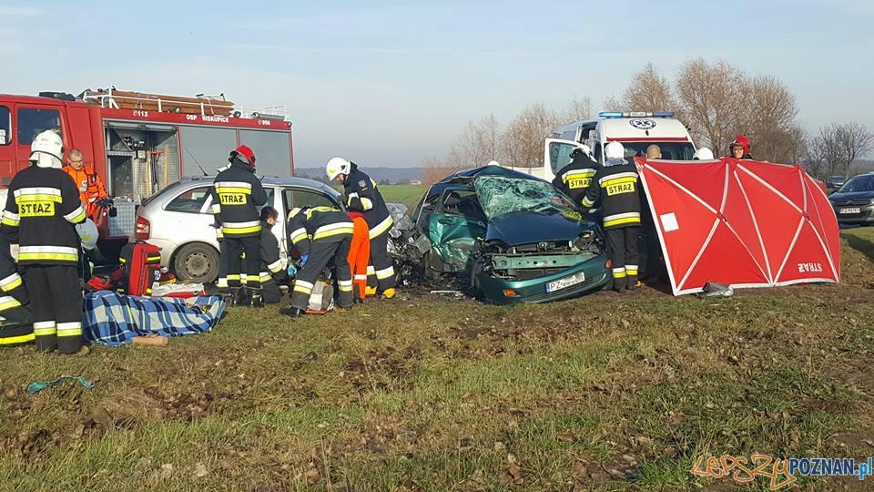 Śmiertelny wypadek w Promnie  Foto: EuroHol