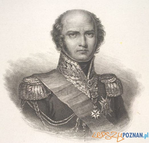 Marszałek Louis Davout, rycina Mauleta