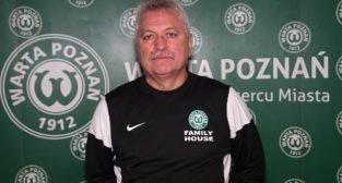 Petr Nêmec - nowy trener Warty