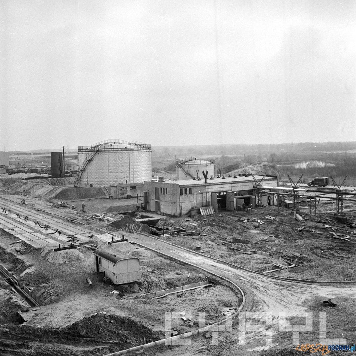 Budowa elektrociepłowni w Karolinie 6.11.1974  Foto: Stanisław Wiktor / Cyryl