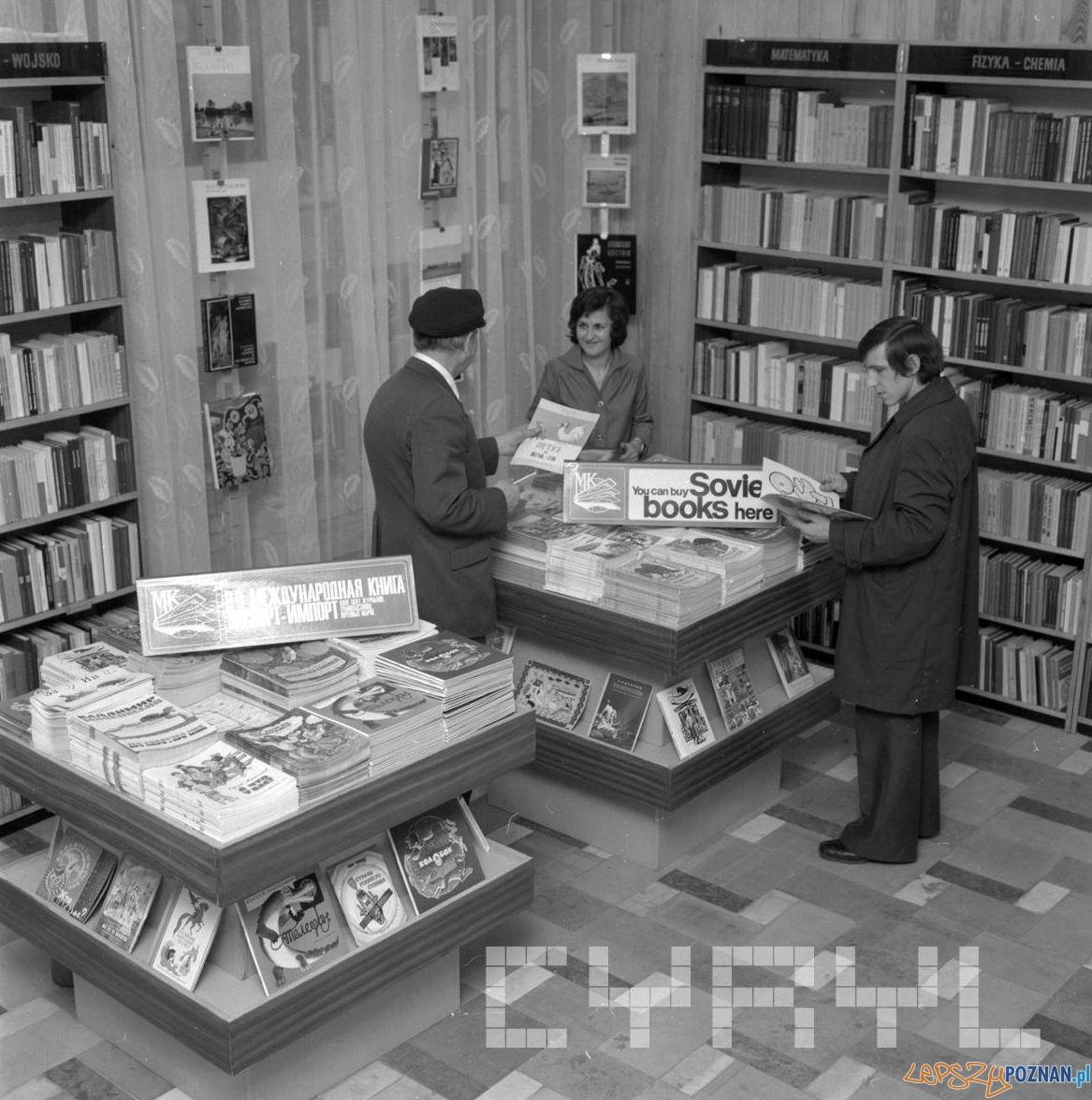 Ksiągarnia Przyjaźń na Ratajczaka - 5.10.1976