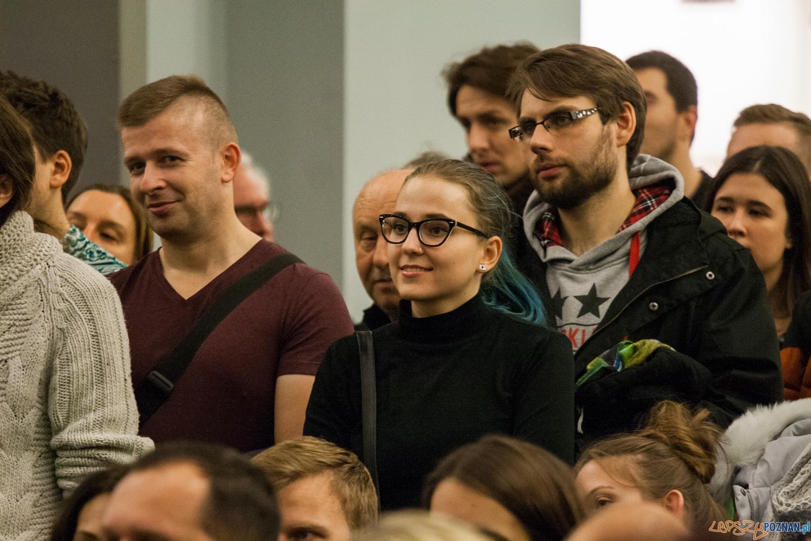 Robert Biedroń (12.11.2016) empik  Foto: © lepszyPOZNAN.pl / Karolina Kiraga