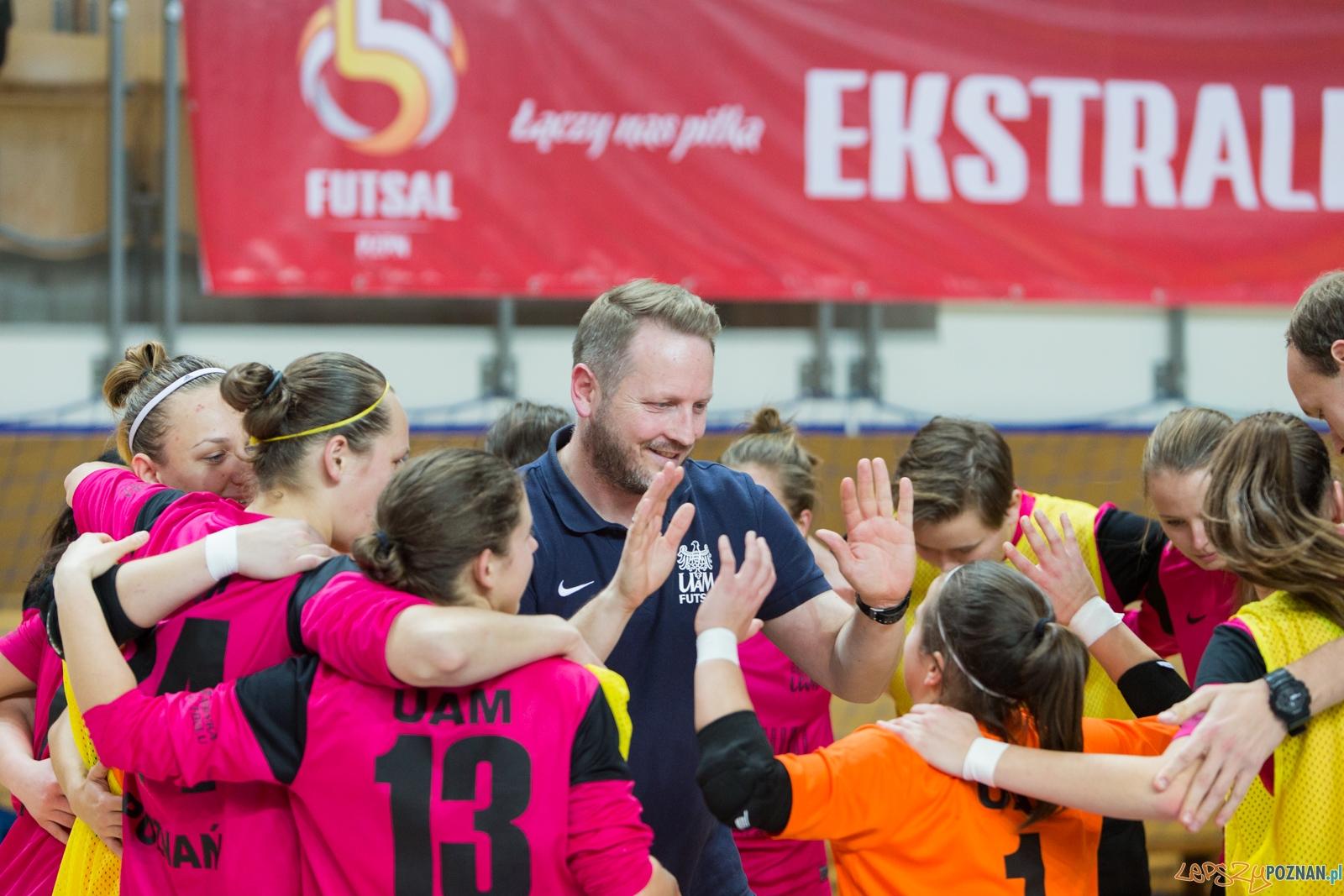 Futsal kobiet: AZS UAM Poznań - AZS AWF Warszawa  Foto: lepszyPOZNAN.pl / Piotr Rychter
