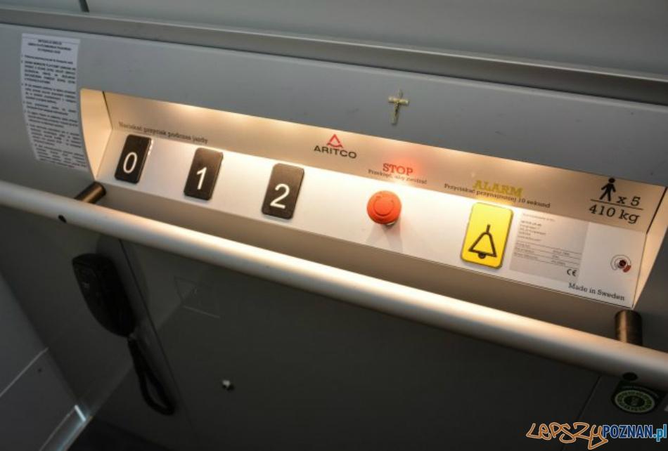 Jest winda dla Krzysia!  Foto: Powiat Szamotulski