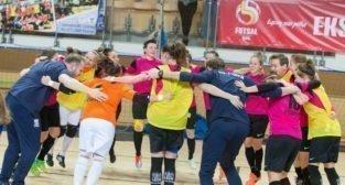 Futsal kobiet: AZS UAM Poznań - AZS AWF Warszawa