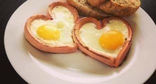 Jajecznica od serca