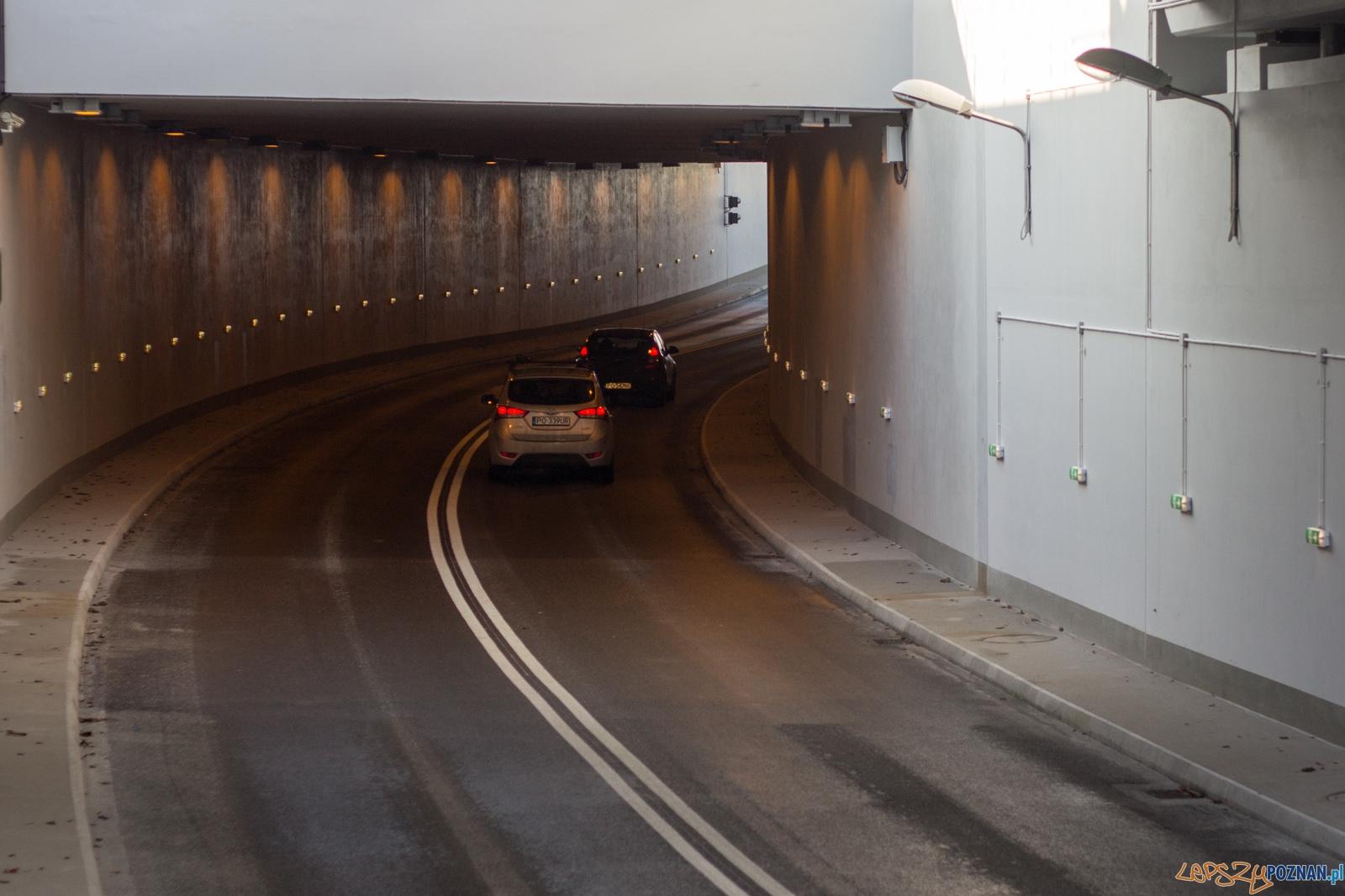 Otwarcie tunelu na Czechosłowackiej  Foto: lepszyPOZNAN.pl / Ewelina Jaśkowiak