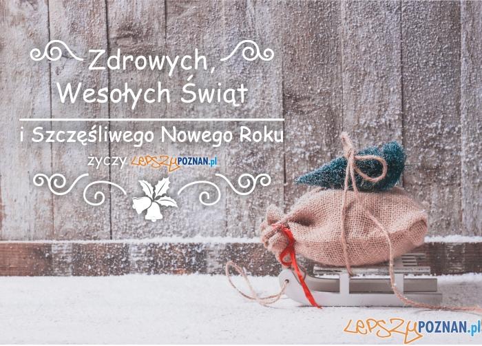 Wesołych Świąt!  Foto: