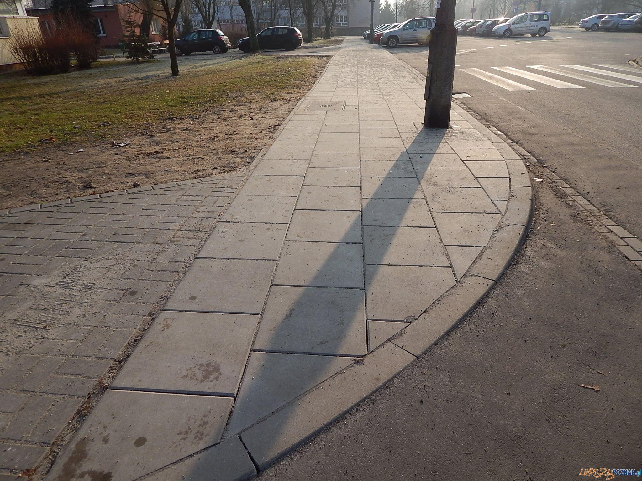 Nowe chodniki na Ratajach  Foto: Artur Gumny / RO Rataje