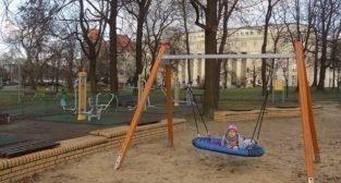 Park Marcinkowskiego - plac zabaw