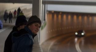 Otwarcie tunelu na Czechosłowackiej