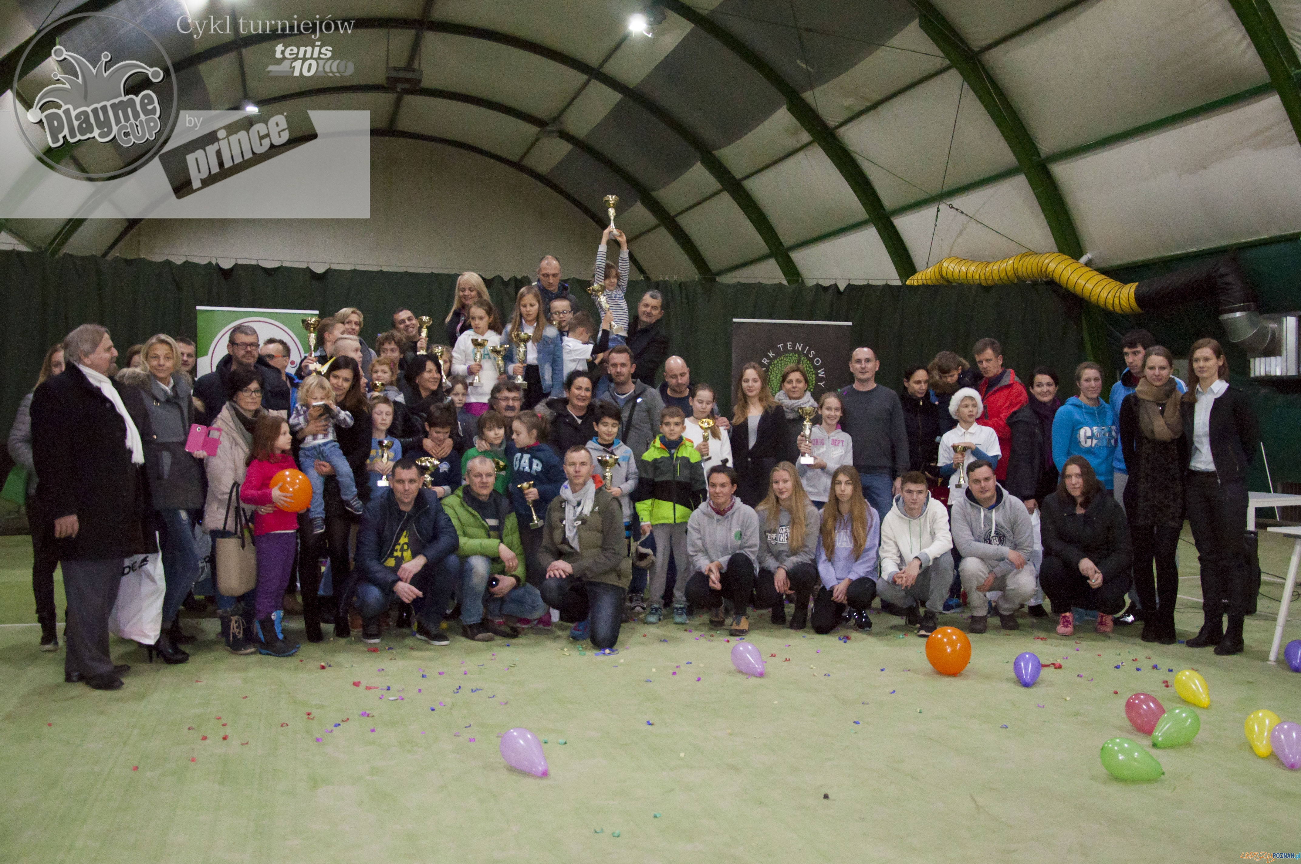 Laureaci PlaymeCup by Prince 2016  Foto: Park Tenisowy Olimpia / Playme Cup