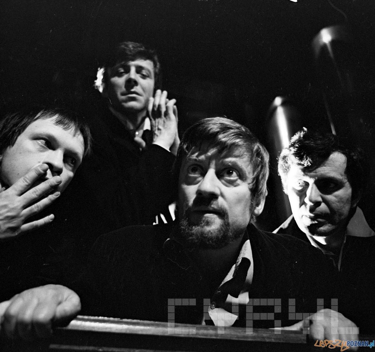 Janusz Michałowski w spektaklu Judasz z Kariothu w Teatrze Nowym - 4 kwietnia 1981