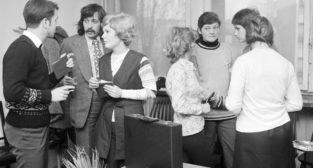 Sesja egzaminacyjna na Uniwersytecie Adama Mickiewicza - 17.01.1974