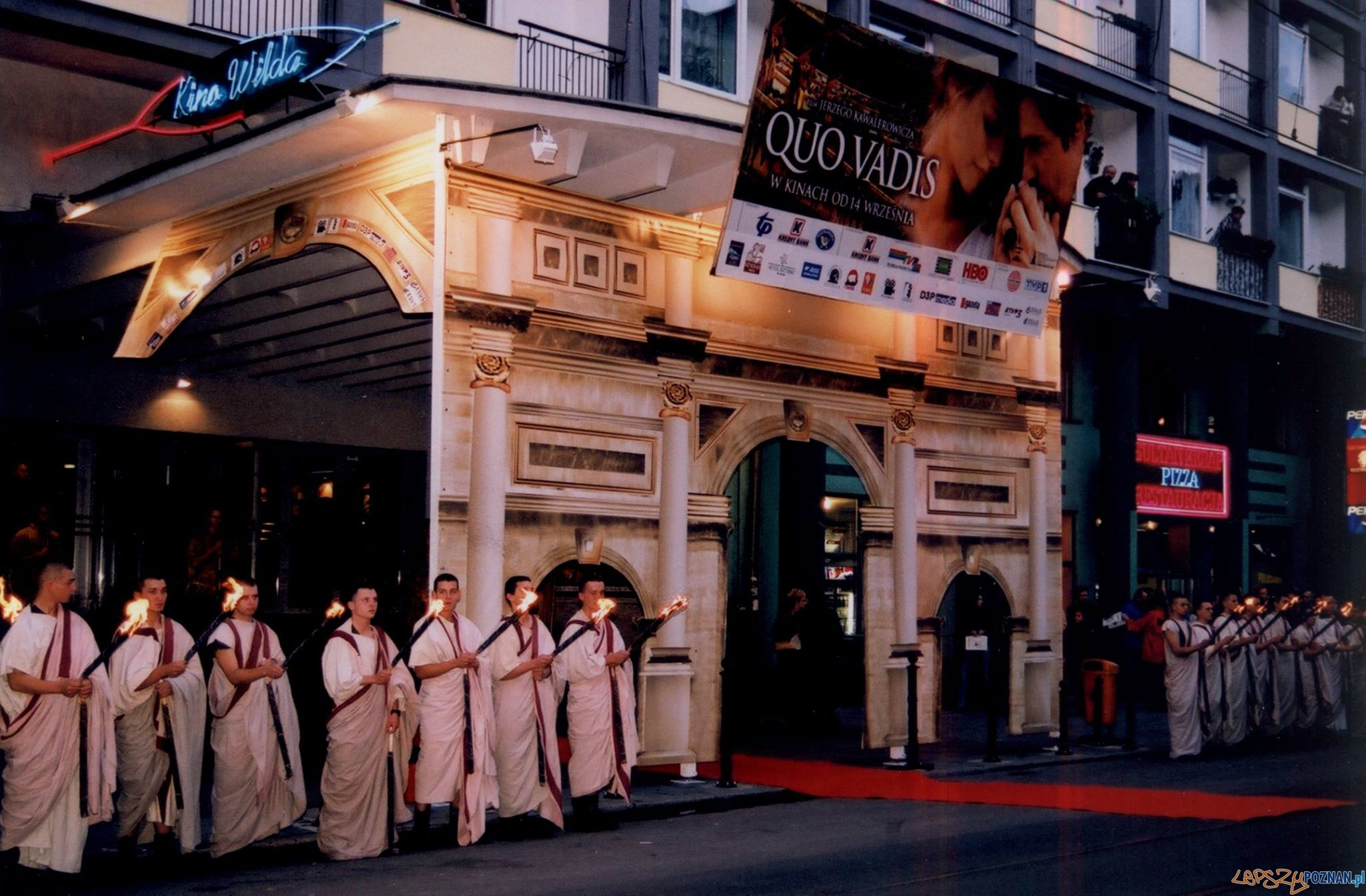 Premiera Quo Vadis w Kinie Wilda w 2001 roku