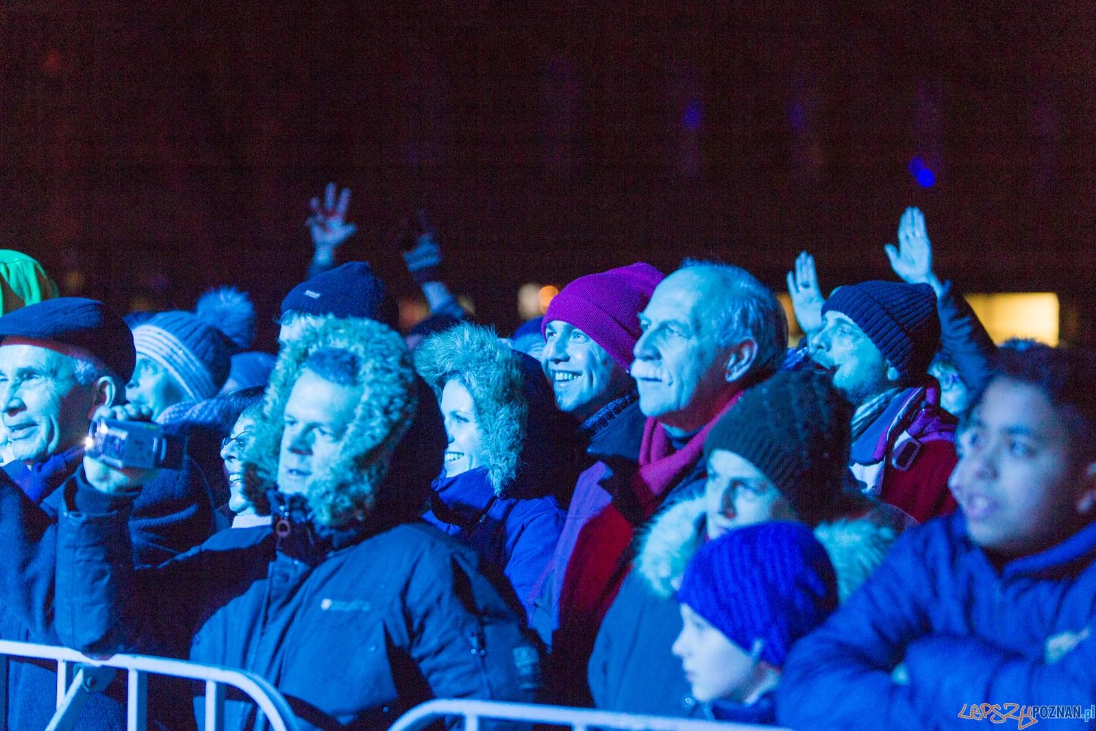 Sylwester Retro-Futuro plac Wolności  Foto: lepszyPOZNAN.pl / Piotr Rychter