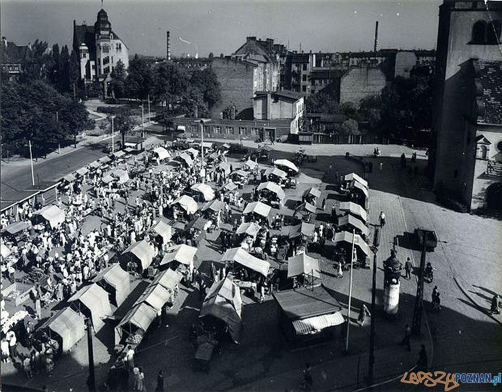 Rynek Wildecki - połowa lat 60-tych