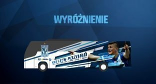 Lech poznań - okleina autokaru