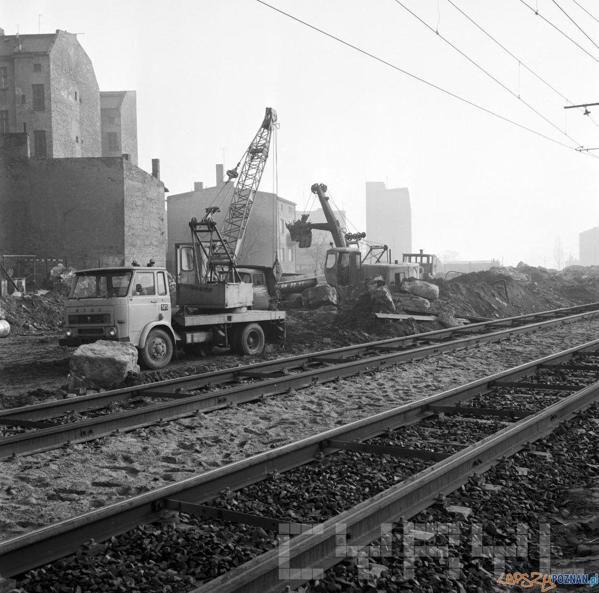 Budowa trasy Hetmańskiej - 1.02.1974